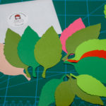 Set frunze de hartie pentru scrapbooking si craft