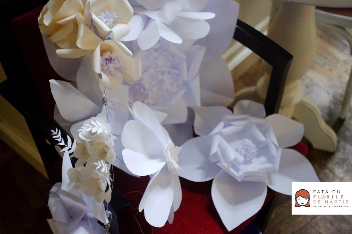 atelier creativ DIY copii adulti Circul Magic flori de hartie Bernschutz Bucuresti (23)