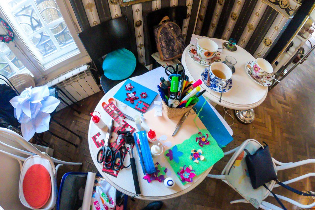 Atelier Hobby Bucuresti - Flori de Hartie